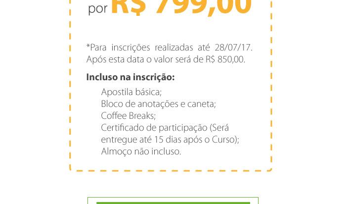 Investimento R$ 799,00